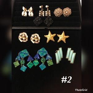 Vintage Earring Bundle Lot #2